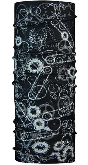 P.A.C. Original Hovedbeklædninger sort/hvid mønstret